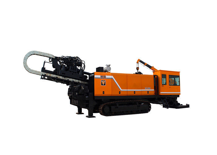 160T Horizontal Directional HDD Drilling Machine With Semi Auto Drill Pipe